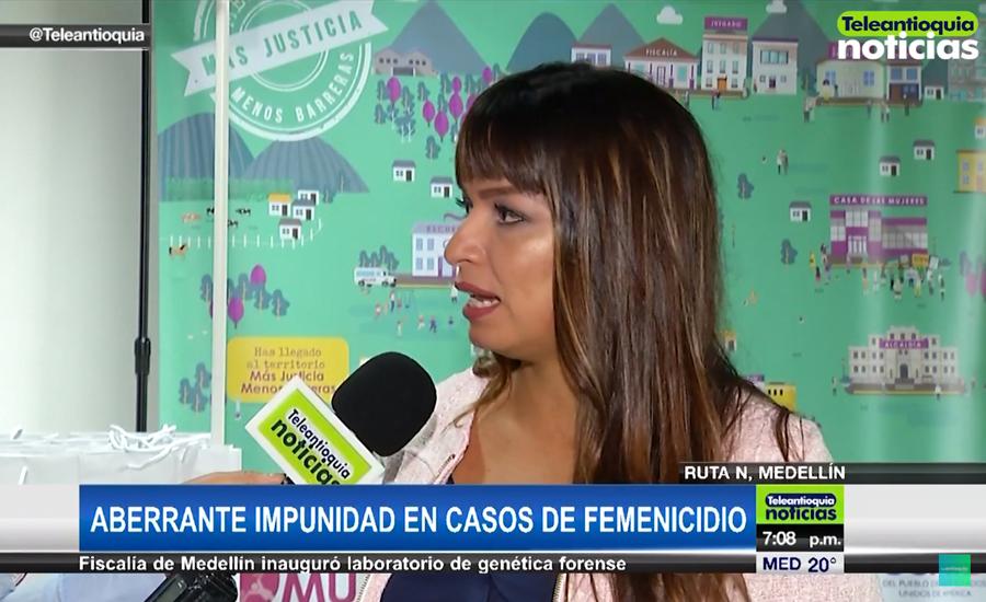 Teleantioquia Noticias: Aberrante impunidad en casos de feminicidio en Colombia