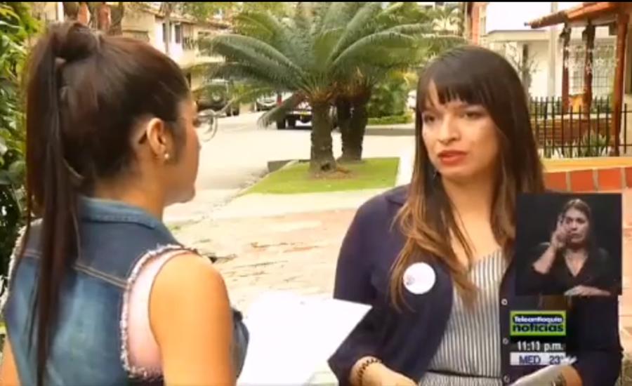 Teleantioquia Noticias: Organizaciones públicas y privadas conformaron una instancia de atención para mujeres venezolanas