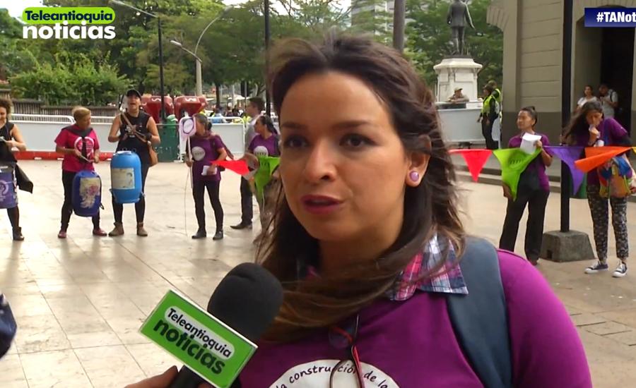 Teleantioquia Noticias: Cinco mujeres víctimas de abuso sexual, exigen no ser revictimizadas
