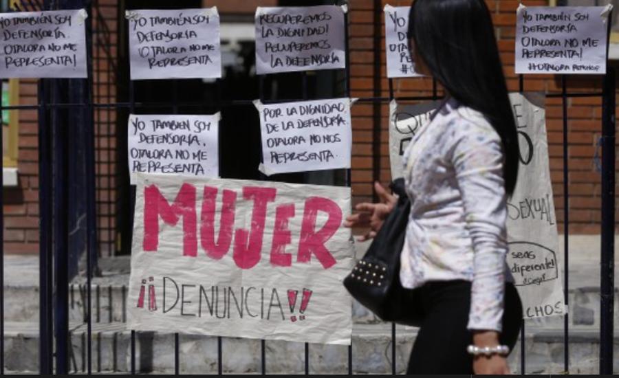 El Colombiano: Cuando una mujer dice No, quiere decir No